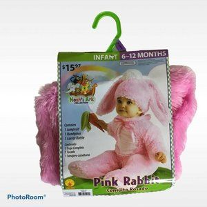 Pink Rabbit Bunny Costume Infant Baby Easter 6-12m